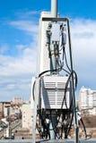 Antenna cellular base station Royalty Free Stock Image