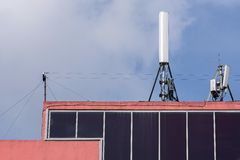 Antenna of cellular communication Stock Photography