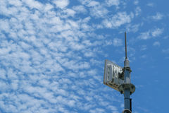 Antenna cellular tower Royalty Free Stock Photo