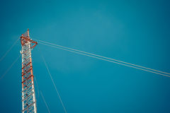 Antenna cellular tower Royalty Free Stock Images