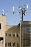 Antenna cellulare fotografie stock libere da diritti