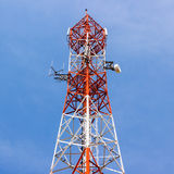 Antenna of Communication Building Stock Photography