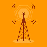 Antenna Communication Icon Royalty Free Stock Images