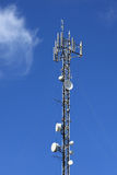 Antenna communications tower. Stock Image