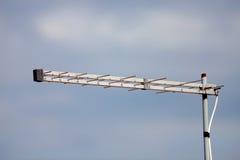 Antenna con il fondo del cielo Fotografia Stock Libera da Diritti