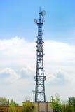 Antenna construction. Royalty Free Stock Photos