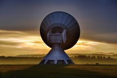 Antenna, Contact, Dawn Royalty Free Stock Images