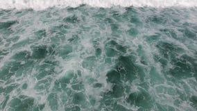 Antenna dalle onde di oceano stock footage