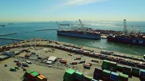 Antenna del cantiere navale archivi video