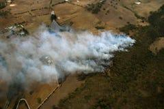 Antenna del fuoco di Bush Immagini Stock