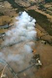 Antenna del fuoco di Bush Fotografie Stock