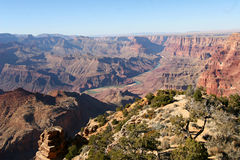 Antenna del grande canyon Fotografie Stock