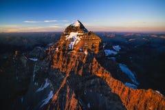 Antenna del Mt Assiniboine, Canada fotografia stock libera da diritti
