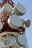 Antenna del ripetitore Fotografia Stock Libera da Diritti
