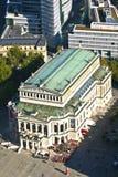 Antenna del teatro dell'opera di operazione di Alte a Francoforte sul Meno Fotografia Stock Libera da Diritti