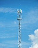 Antenna del telefono cellulare Fotografia Stock