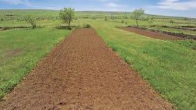 Antenna del terreno arabile della Dalmazia archivi video