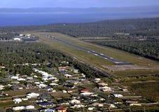 Antenna dell'aeroporto di Hervey Bay Immagini Stock Libere da Diritti