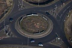 Antenna dell'isola di Traffis Fotografia Stock