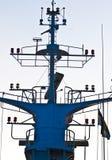 Antenna della barca Fotografie Stock Libere da Diritti