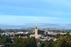 Antenna della città universitaria di università di California Immagine Stock Libera da Diritti