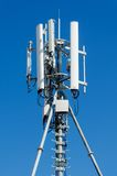 Antenna della rete del telefono cellulare Fotografia Stock Libera da Diritti