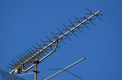 Antenna della TV fotografia stock libera da diritti