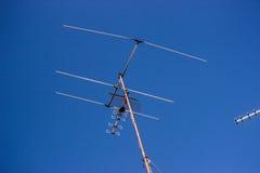 Antenna della TV Immagini Stock Libere da Diritti