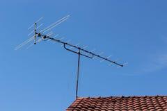 Antenna della TV Immagine Stock Libera da Diritti