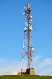 Antenna di comunicazione Fotografie Stock