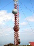 Antenna di comunicazione Fotografia Stock Libera da Diritti