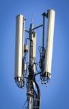 Antenna di comunicazione su mezzi mobili Fotografia Stock Libera da Diritti
