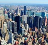 Antenna di New York City Fotografia Stock Libera da Diritti