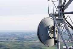 Antenna di piatto Fotografie Stock Libere da Diritti
