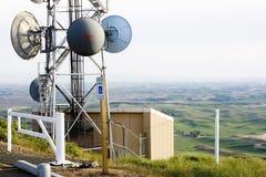 Antenna di piatto Fotografia Stock