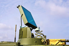 Antenna di radar Fotografia Stock Libera da Diritti