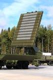 Antenna di radar del sistema di difesa aerea Fotografie Stock Libere da Diritti