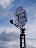 Antenna di radar militare Fotografie Stock Libere da Diritti
