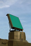 Antenna di radar per protezione antiaerea Fotografia Stock Libera da Diritti