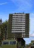 Antenna di radar sull'sincronizzato - allini la tecnologia Fotografia Stock
