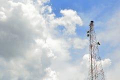 Antenna di radiodiffusione Fotografia Stock Libera da Diritti
