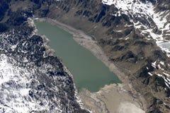 Antenna di Ritom del lago, Svizzera Fotografia Stock Libera da Diritti