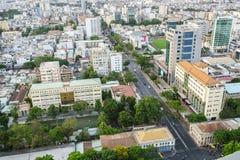 Antenna di Saigon, Vietnam Immagini Stock Libere da Diritti