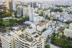 Antenna di Saigon, Vietnam Immagine Stock