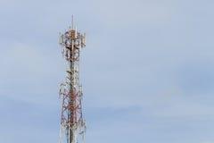 Antenna di telecomunicazione immagine stock libera da diritti