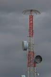 Antenna di telecomunicazione per la radio fotografie stock libere da diritti