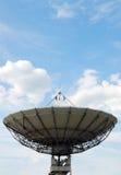 Antenna di telecomunicazione via satellite Immagine Stock Libera da Diritti