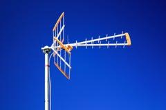 Antenna di televisione immagini stock