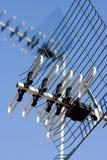 Antenna di televisione fotografia stock libera da diritti