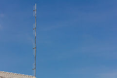 Antenna dipole type Stock Photo